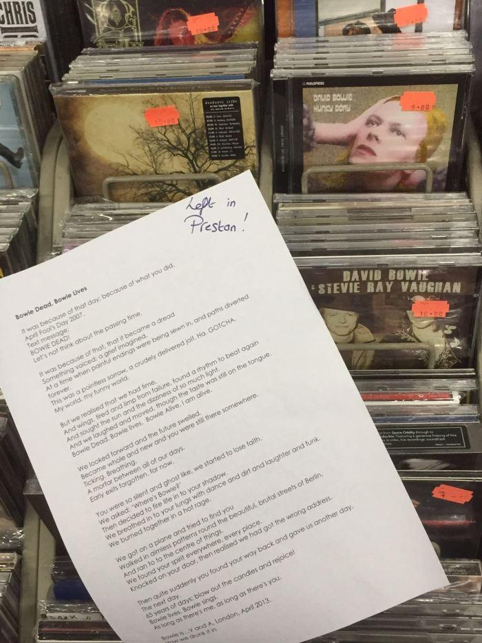 Left in Preston Action Records